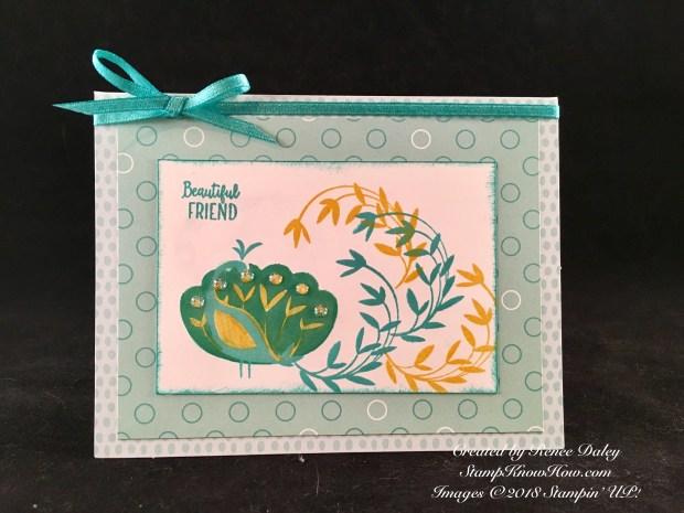 Beautiful Peacock Stamp Set