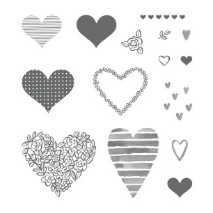 Heart Happiness Stamp Set by Stampin' Up