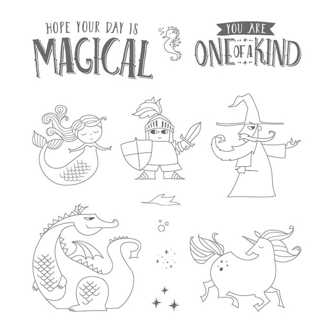Magical Day Stamp Set by Stampin' UP