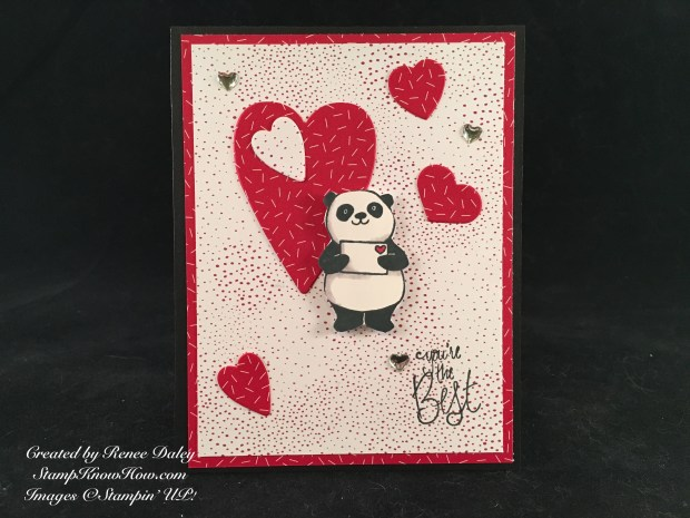 Party Pandas Sale-a-bration stamp set