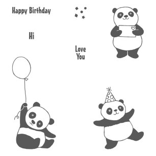 Party Pandas Stamp set by Stampin' UP
