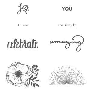 Amazing You Stamp Set by Stampin' UP