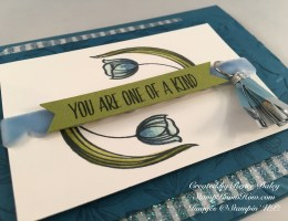 Close up image of Lovely Wishes Card