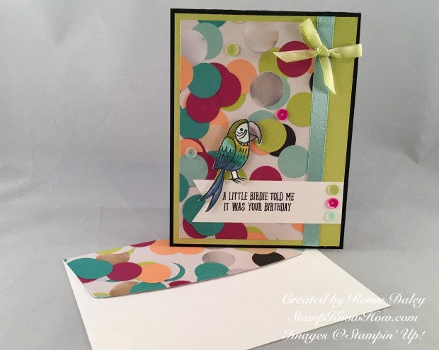 Bird Banter Stamp Set by Stampin' UP