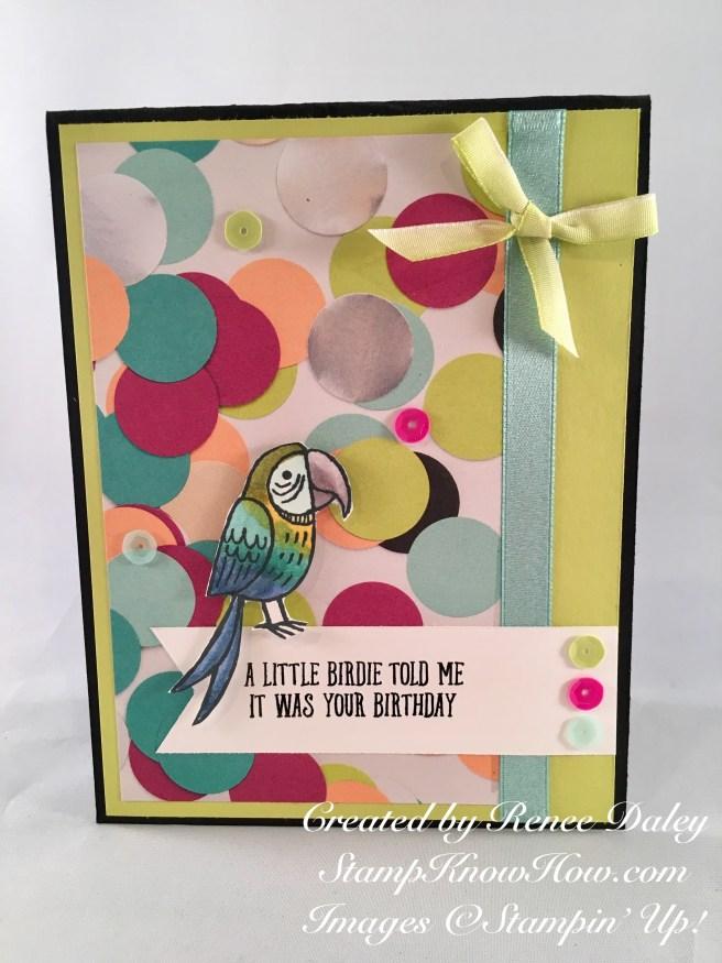 Bird Banter Stamp Set by Stampin' UP
