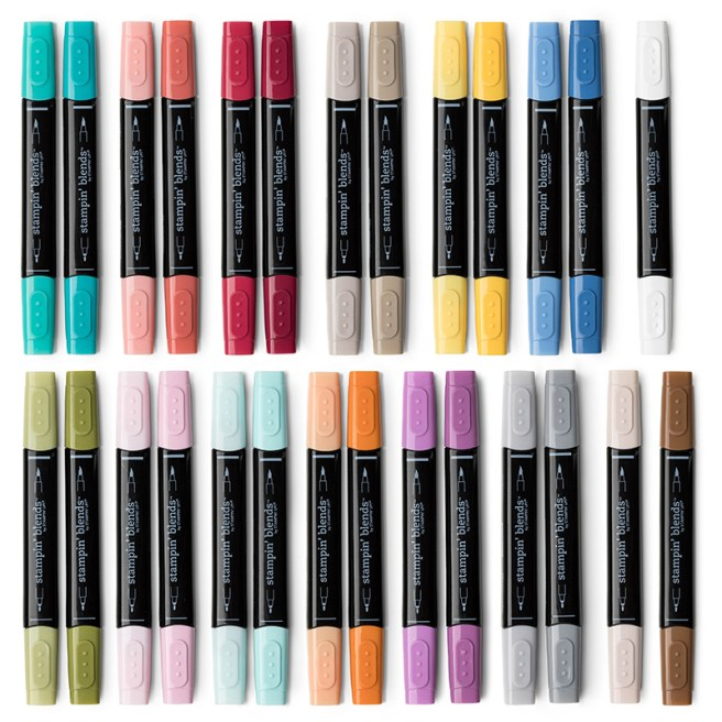 Stampin' Blends Marker Collection by Stampin UP!