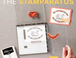 Stamparatus stamping tool by Stampin' UP