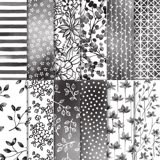 Petal Passion Designer Series Paper by Stampin' UP