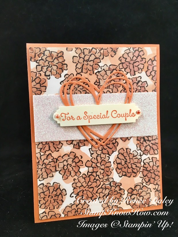 Share What You Love Wedding Card