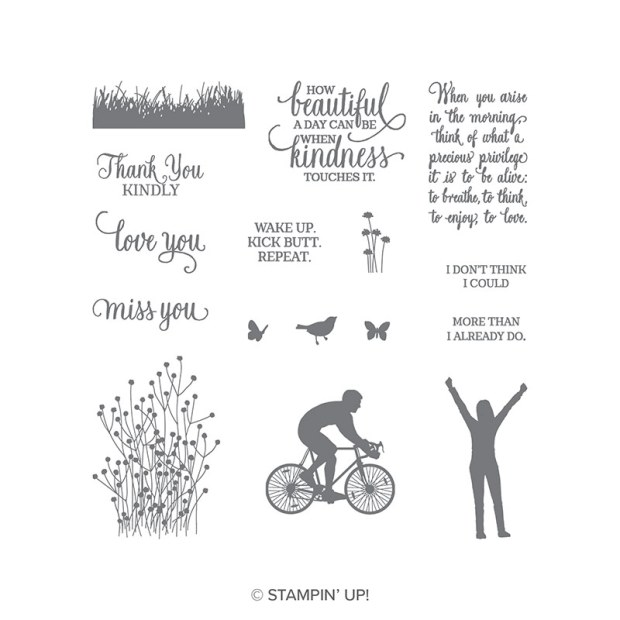 Enjoy Life Stamp Set by Stampin' UP