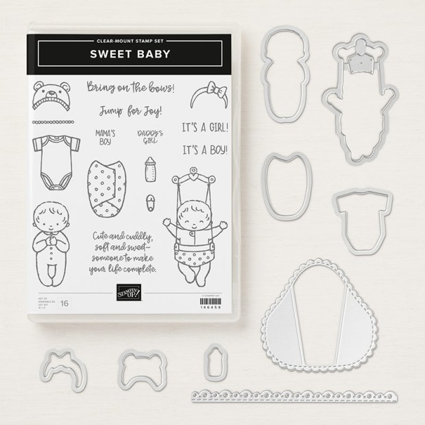Sweet Baby Bundle by Stampin' UP!