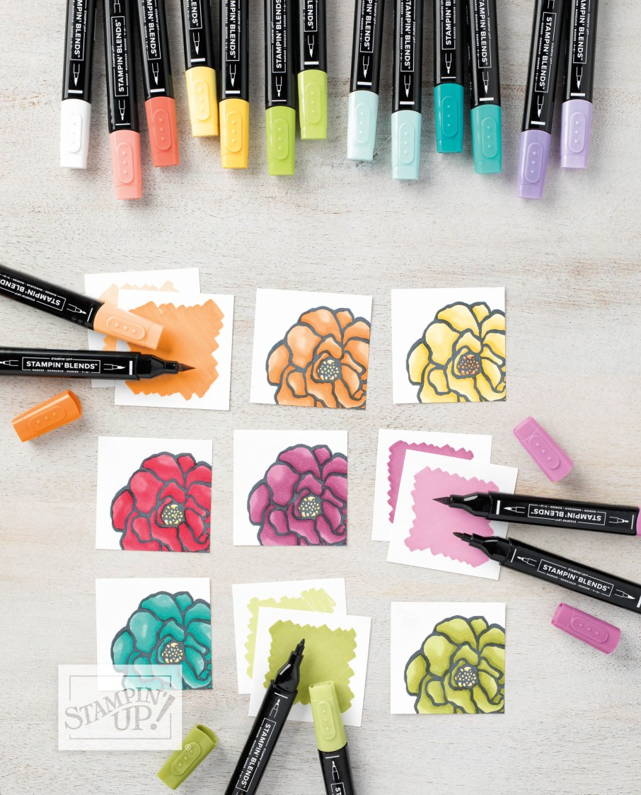 Stampin' Blends Markers by Stampin' UP
