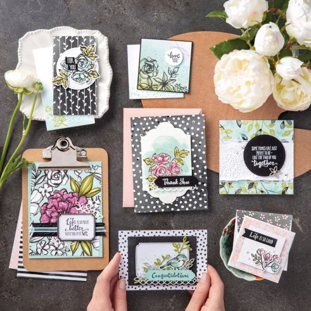 Petals and More Thinlit Dies by Stampin' UP!
