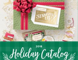 Stampin' Up Holiday Catalog 2018