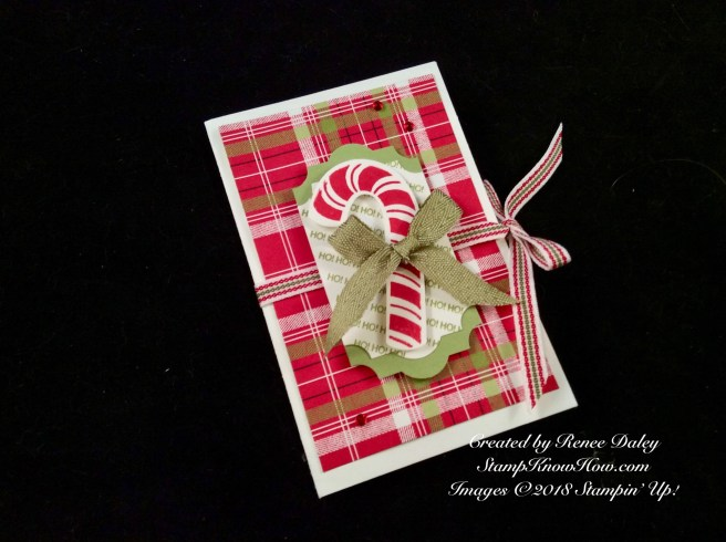 Candy Cane Season Stamp Set by Stampin' Up!
