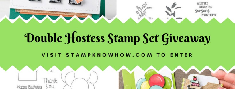 August 2018 Giveaway from StampKnowHow.com