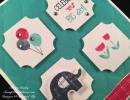 Little Elephant Stamp Set and Punch by Stampin UP