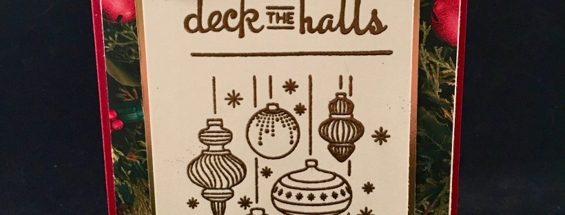Beautiful Baubles Stamp Set by Stampin' Up!