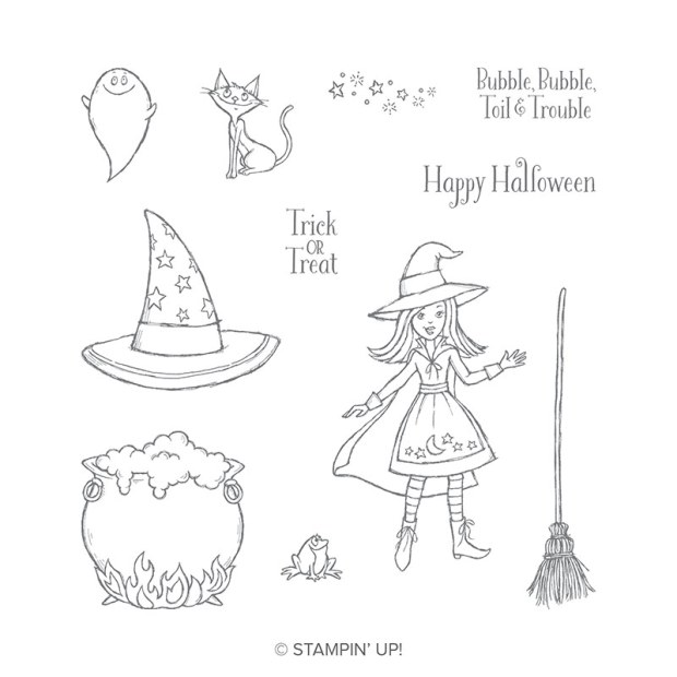 Cauldron Bubble Stamp Set by Stampin' Up!