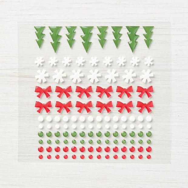 Santa's Workshop enamel shapes from Stampin' Up!