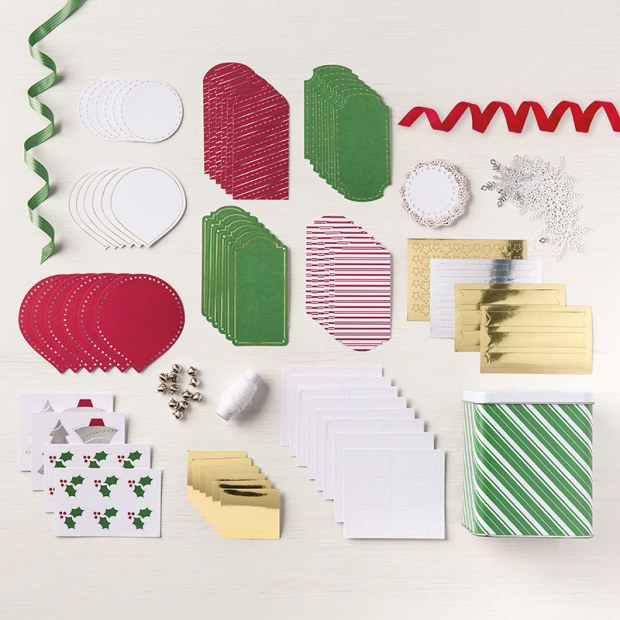 Sincerely Santa Tag Kit from Stampin' Up!