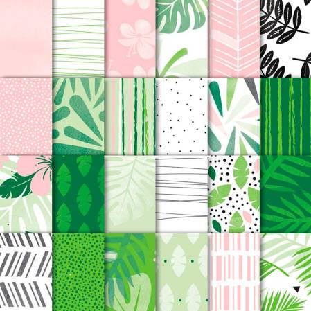 """Tropical Escape 6x6"""" DSP by Stampin' UP!"""