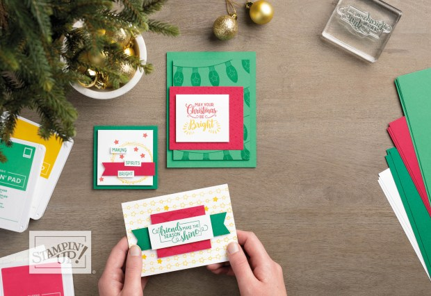 Image of making handmade Christmas cards