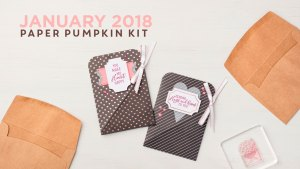 January 2018 Paper Pumpkin Kit by Stampin' Up!