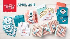 April 2018 Paper Pumpkin Kit by Stampin' Up!