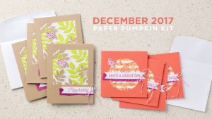 December 2017 Paper Pumpkin Kit by Stampin' Up!