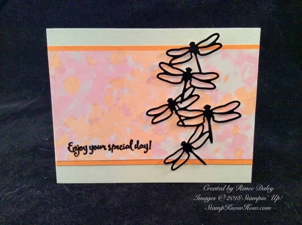Dragonfly Dreams Birthday Card