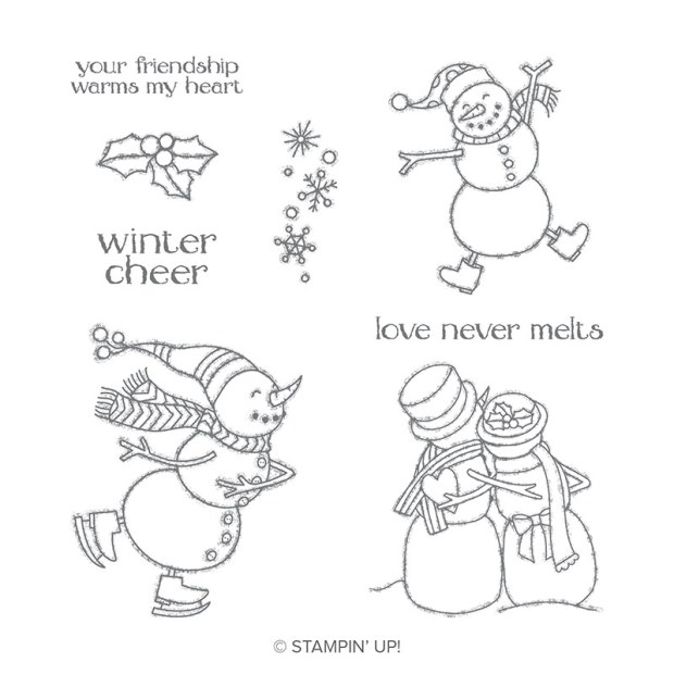 Spirited Snowmen Stamp Set by Stampin' Up!