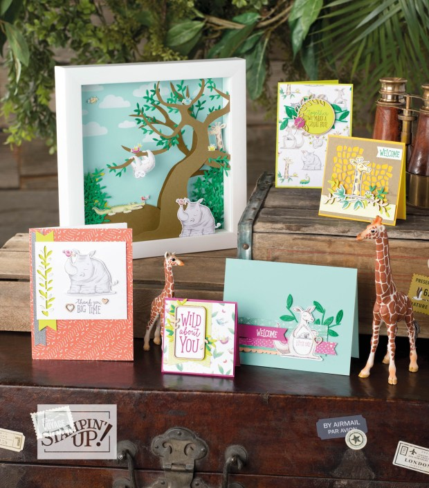 Animal Expedition Suite by Stampin' Up