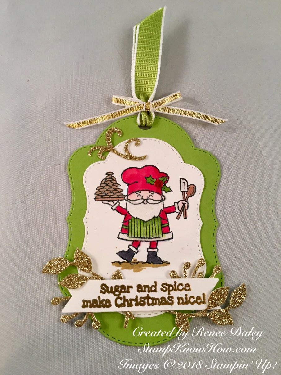 So Santa Christmas Gift tag