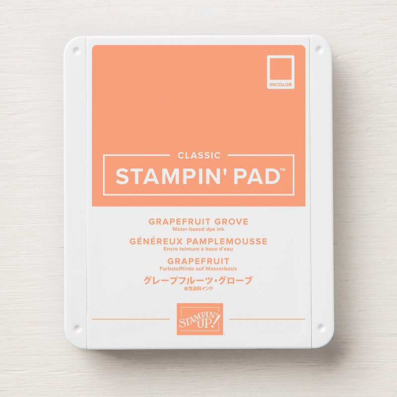 Grapefruit Grove ink by Stampin' Up!