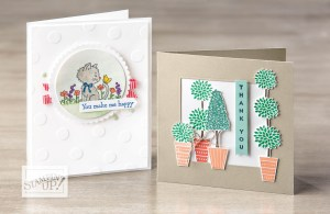 Stampin' Up Card Samples