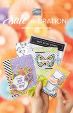 Stampin Up Sale-a-Bration Brochure