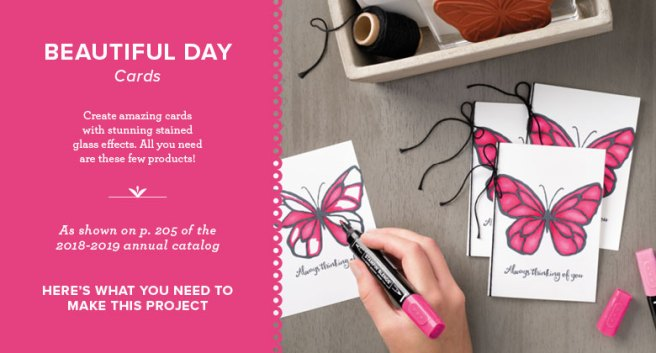 Beautiful Day Cards by Stampin' Up!