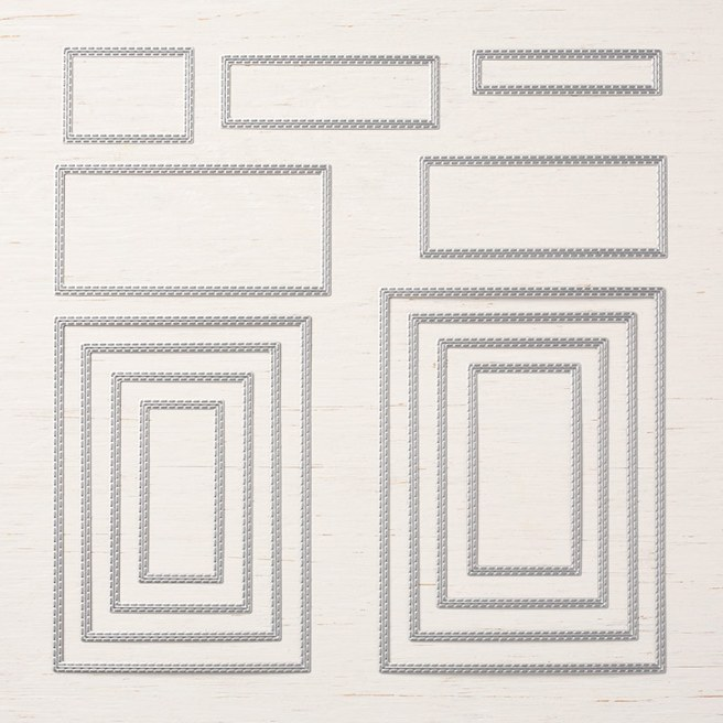 Rectangle Stitched Framelits by Stampin' Up!