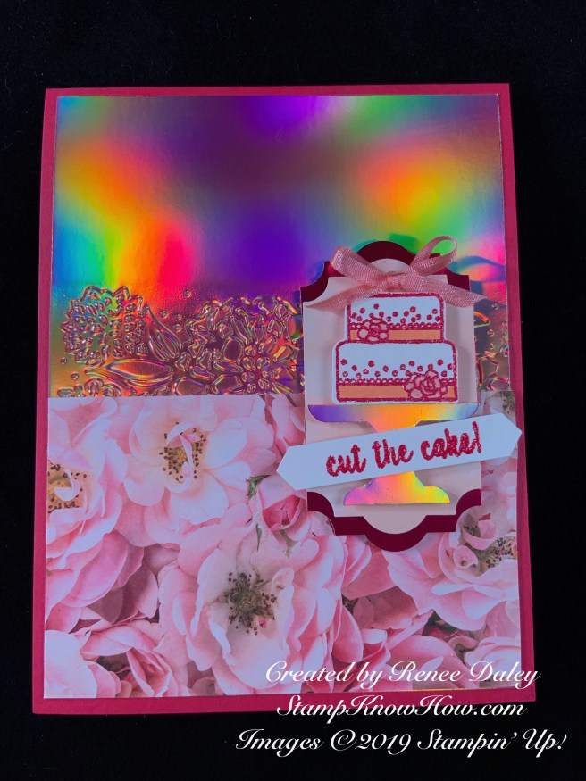 The Piece of Cake Stamp Set from Stampin' Up