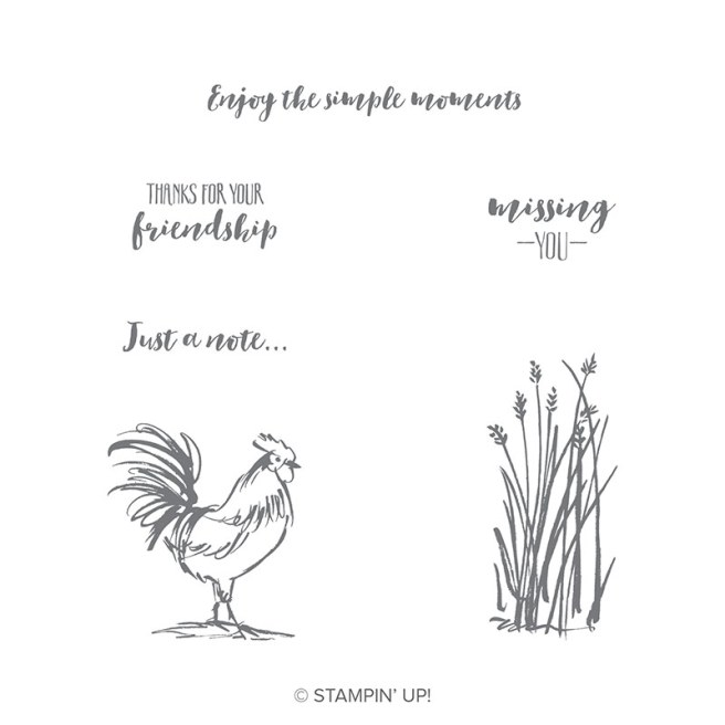 Home to Roost Stamp Set by Stampin' Up!