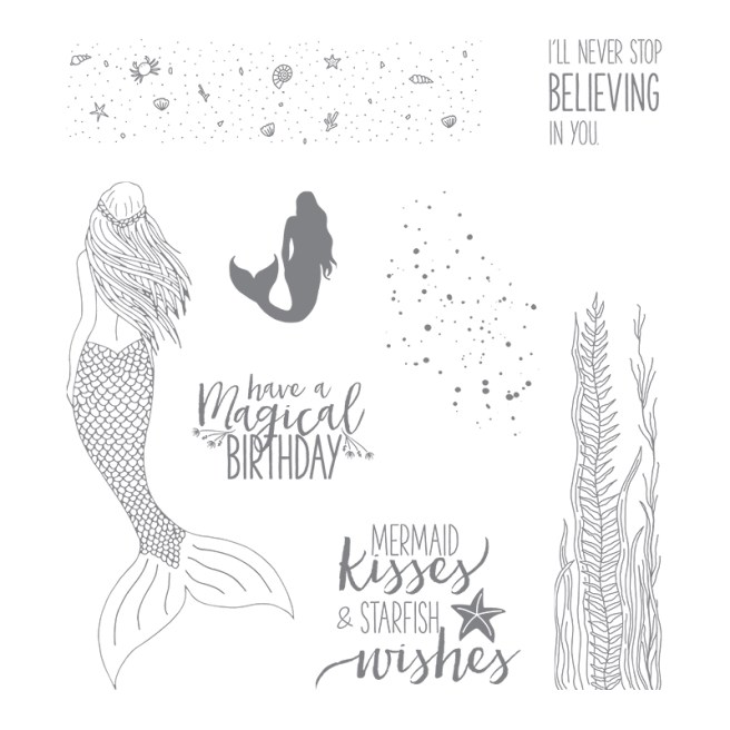 Magical Mermaid Stamp Set by Stampin' Up!