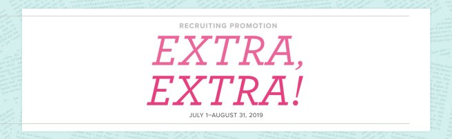 Extra! Extra! Demonstrator sign up bonus!