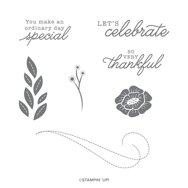 For the Love of Felt Stamp Set by Stampin' Up!