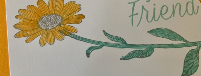 Daisy Lane Friendship Card