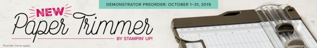 Stampin' Up NEW Paper trimmer design coming soon
