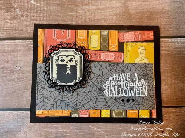 Spooktacular Stamp Set by Stampin' Up