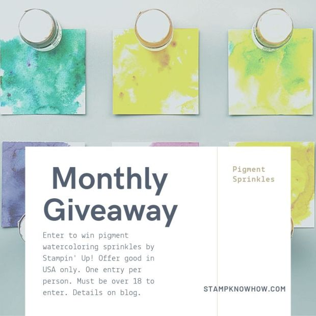 StampKnowHow.com September 2019 giveaway