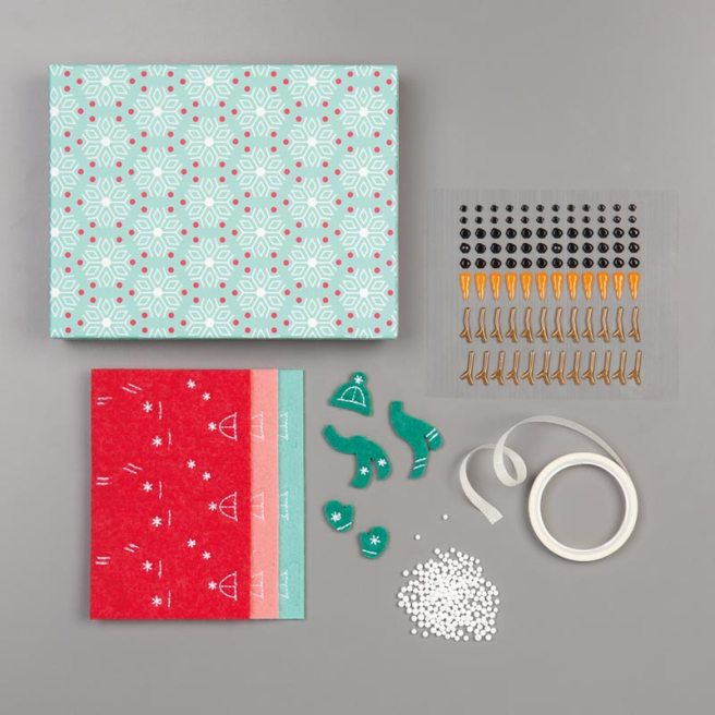 Let It Snow Embellishment Kit by Stampin' Up