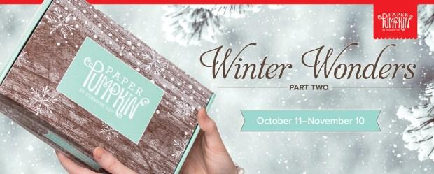 Winter Wonder's Paper Pumpkin kit - sign up by November 10th